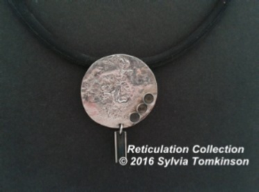 Reticulation of a Silver surface